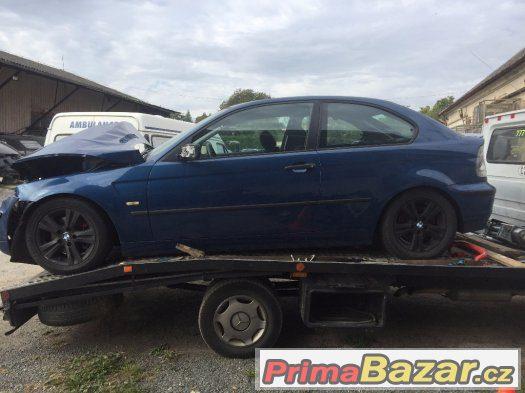 Díly BMW E46 compakt 320td