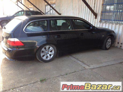 Náhradní díly BMWE60, E61 530d, 520d, 525i apod.