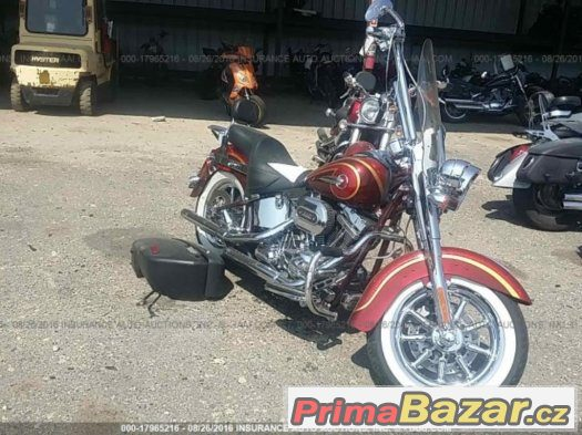Harley-davidson softail deluxe CVO Flhtnse