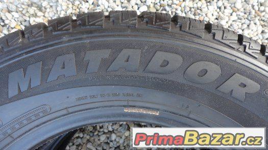 2x zimní pneumatiky Matador 195/75/R16 C zátěžové