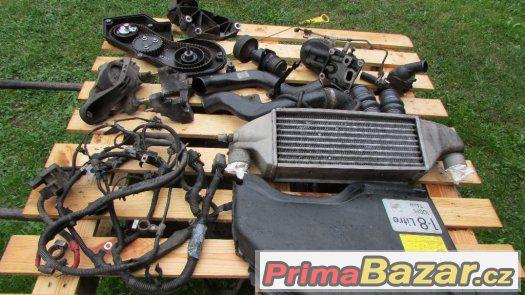 Intercooler,výměník,díly motor Ford Focus 1.8TDCI,74kw