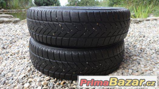 2x zimní pneumatiky Vredestein 165/70/R14 81T