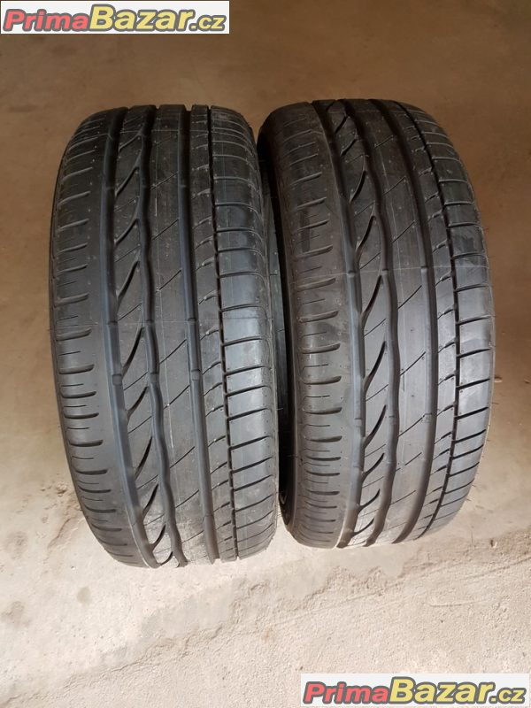 2xpneu zanovni 99% vzorek Bridgestone Turanza ER300 2914dot RSC 225/55 r17 97Y