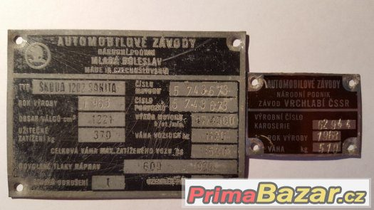 Škoda 1202 STW Sanitka
