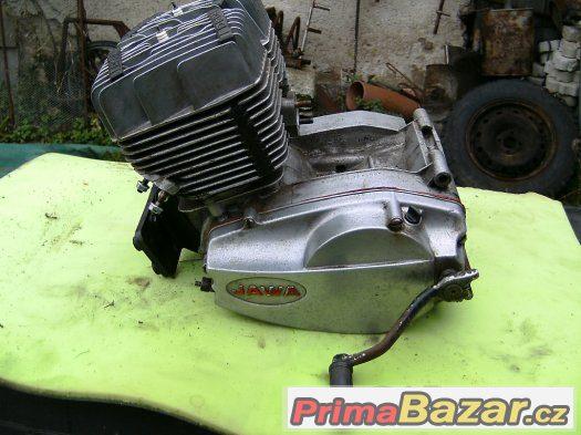 Motor-funkční Jawa 350