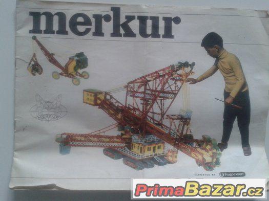 Návod pro stavebnici Merkur