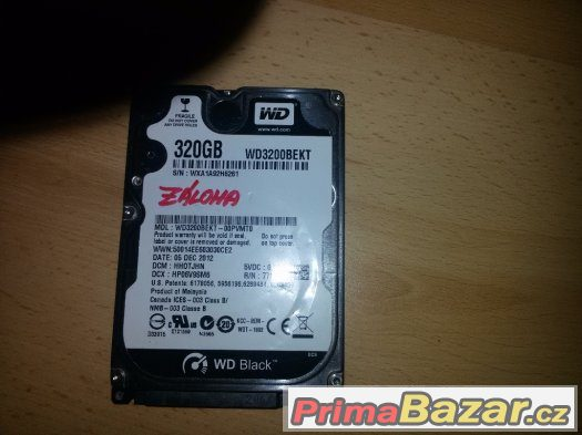 HDD WD 320GB