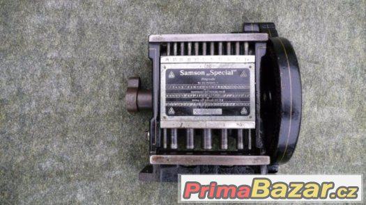 Historický strojek na výrobu prstýnků SAMSON