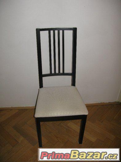 Černá židle Ikea Borje
