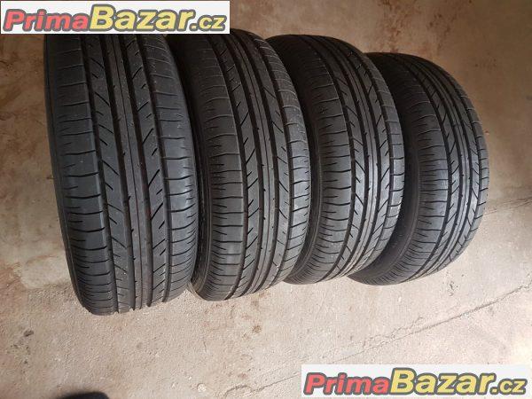 4xnove pneu Bridgestone potenza re040 6 letni 235/55 r17