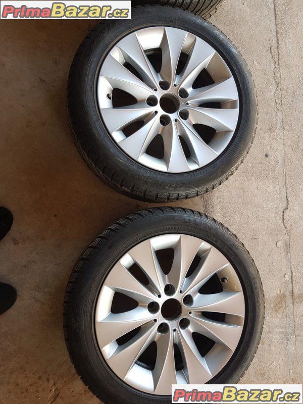 3x alu kolo s pneu Bmw 6758775 bbs 5x120 7.5jx17