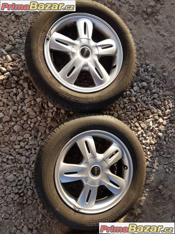 sada alu kola Mini Cooper 67663296 7 4x100 5.5jx15 is45