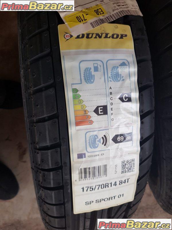 2x nove pneu Dunlop spsport 01 12 175/70 r14 84t