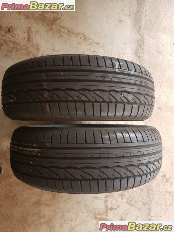 2x nove pneu Dunlop spsport 01 9 letni  185/60 r15