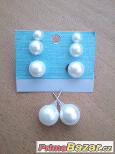 Náušnice-perly