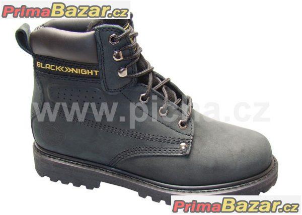 Nové pracovní zateplné  boty HONEY WINTER - černá
