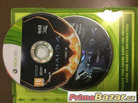 Zánovní Halo 4 xbox 360vNOVÁ CENA