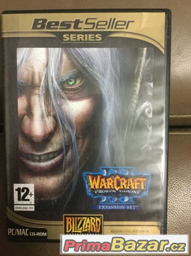 Warcraft 3 The Frozen Throne Expansion 100Kč