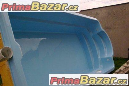 Laminátový bazén s PUR izolací