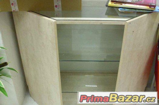 Dřevěný atypický pult 2ks