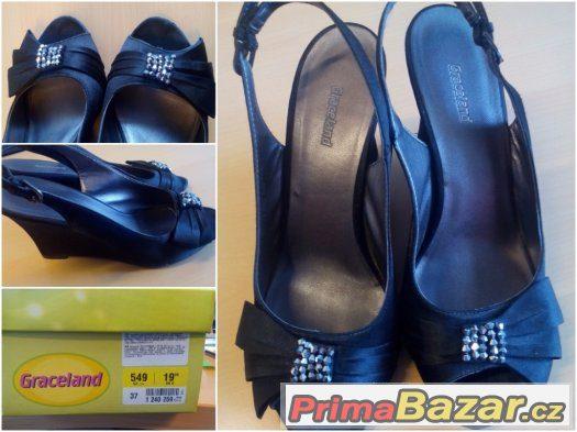 Černá dámská obuv - elegantní