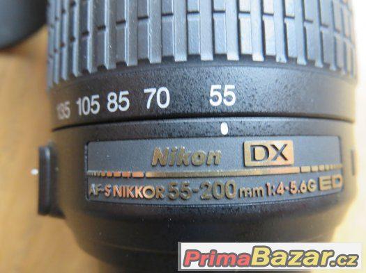 Objektiv 55-200mm