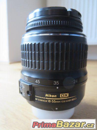 Objektiv nikkor18-55mm