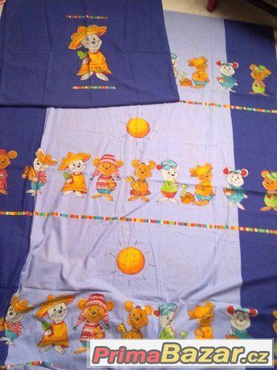 dětské povlečení na velkou postel,pytel,deky