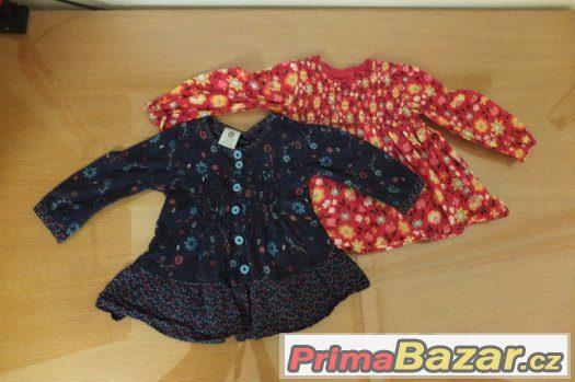 Tričko-šaty vel. cca 6 měsíců