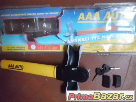 Nová zamykací Tyč na volant AAA Auto