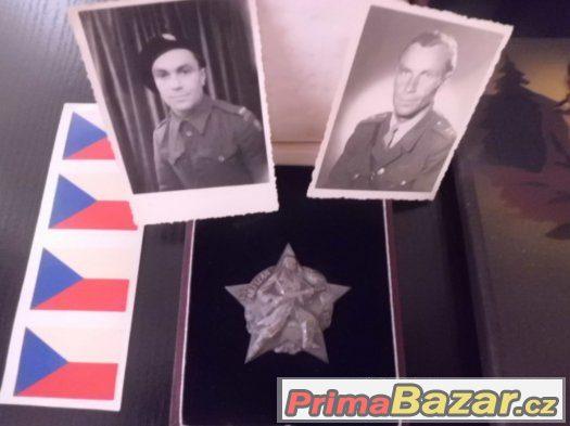 Pozůstalost po Vojákovi-Památník TELEGRAFNÍ PRAPOR 6 a další