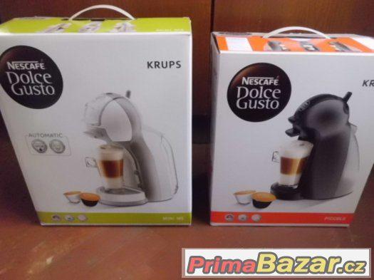 dva pěkné Kávovary Nescafe Dolce Gusto