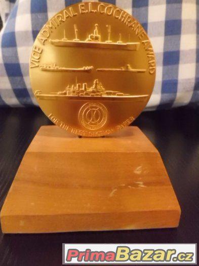 SUPER Pozlacená  Medaile Vice Admiral - ALEXANDER KOLOMOJCEV