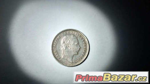 RU mince 5 krejcar 1859 M    R