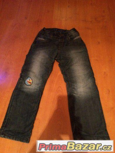 Prodám chlapecké džíny - velikost 122 (C&A)