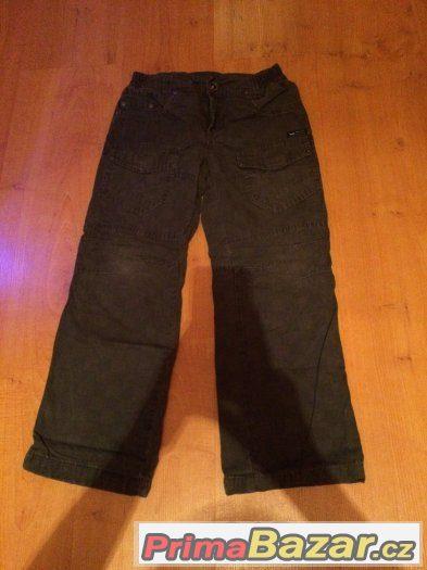 Prodám chlapecké kalhoty - vel. 122 (C&A)