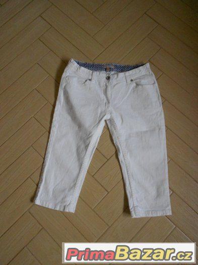 Prodám levně tříčtvrteční kalhoty (Marks&Spencer) - vel.13y
