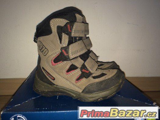 Zimní boty vel. 25