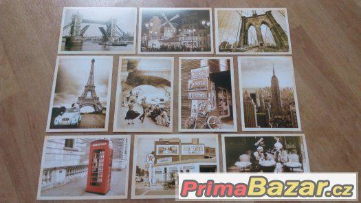 Vintage pohlednice