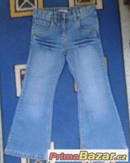 detske riflove kalhoty vel.122 za 120 Kc, jako nove,zasl.moz