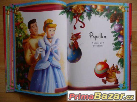 Knížka Disney Princezny Královské vánoce