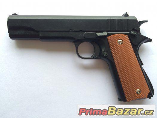 Airsoft celokovová replika pistole Colt 1911