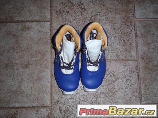 Dětské boty na běžky - rezervace