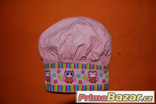 Kuchařská čepice na karneval