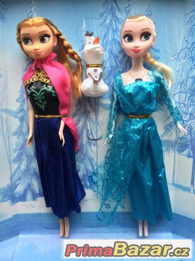 Sada panenek Frozen Anna, Elsa+Olaf, Zpívají,hrají