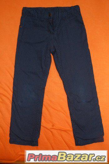 Zateplené kalhoty, vel. 110