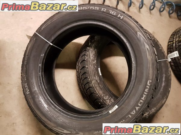 sada 4xpneu 95% Uniroyal MS plus 66 195/55 r16h 87h 12