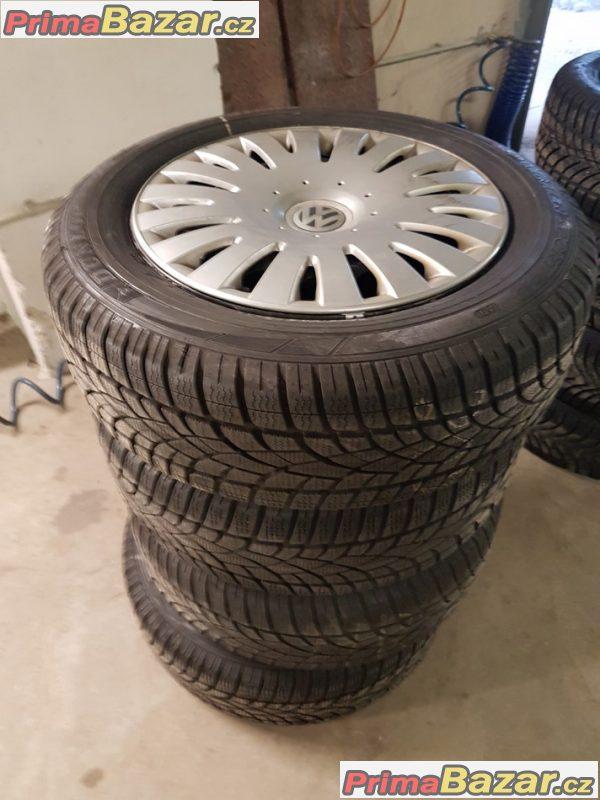 sada plechove disky VW Audi 1J0601027 3xpoklice 5x100 6.5jx16 et42