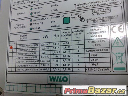 WILO QTD 10 řídící jednotka k čerpadlu 3x400V