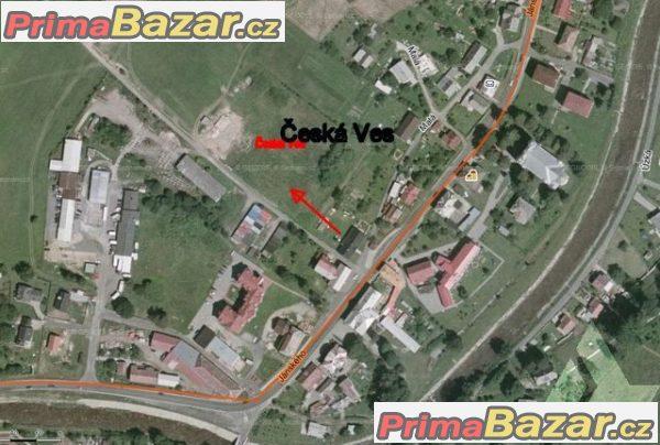 Prodej stavební parcely, Česká Ves, okres Jeseník